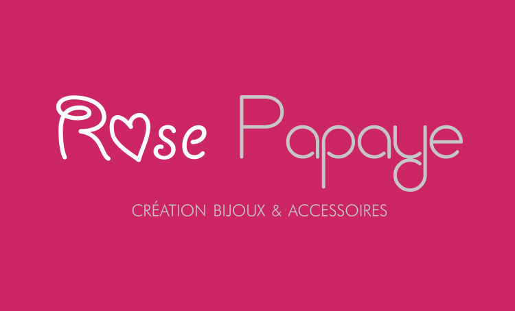 création marque rose papaye