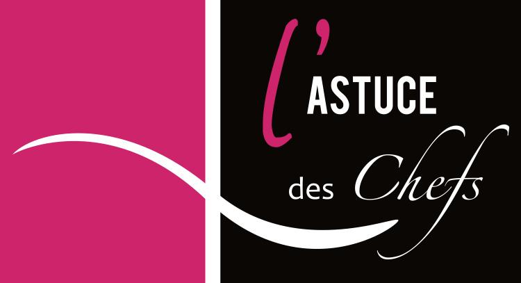 création logo l'astuce des chefs