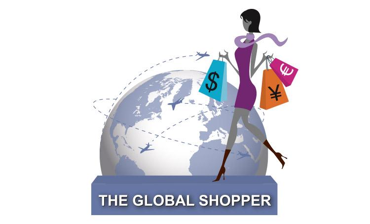 création mascotte The Global Shopper