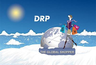 illustration the global shopper hiver