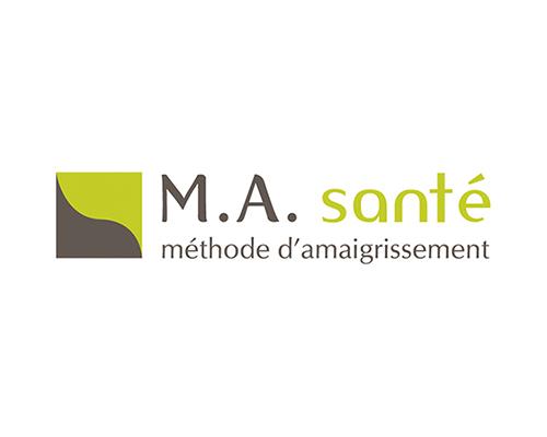 création logotype M.A. Santé