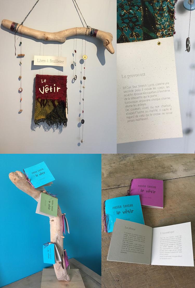 livre suspendu, design et écriture