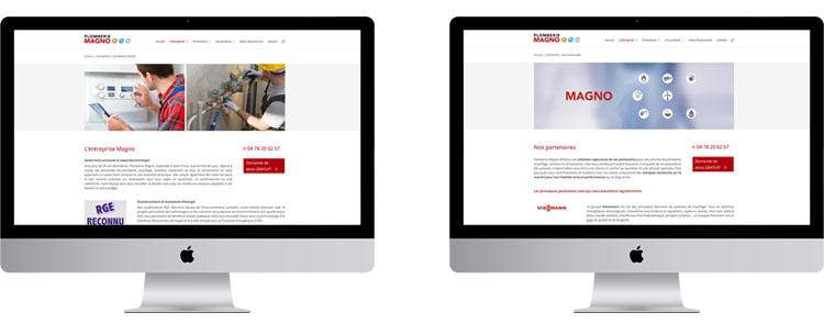 création site Internet plombier chauffagiste