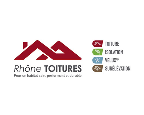création logo Rhône Toitures