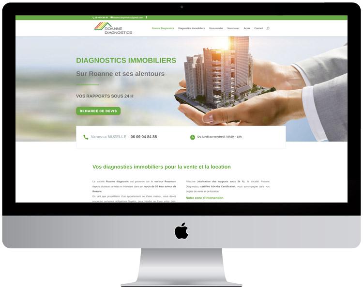 Création site Internet Diagnostics immobiliers