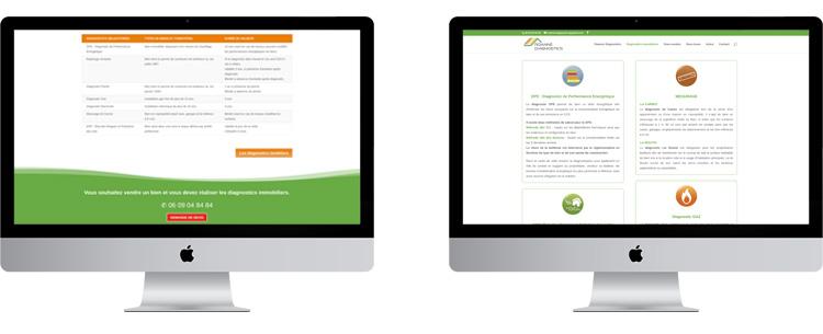 Création site Internet Roanne Diagnostics